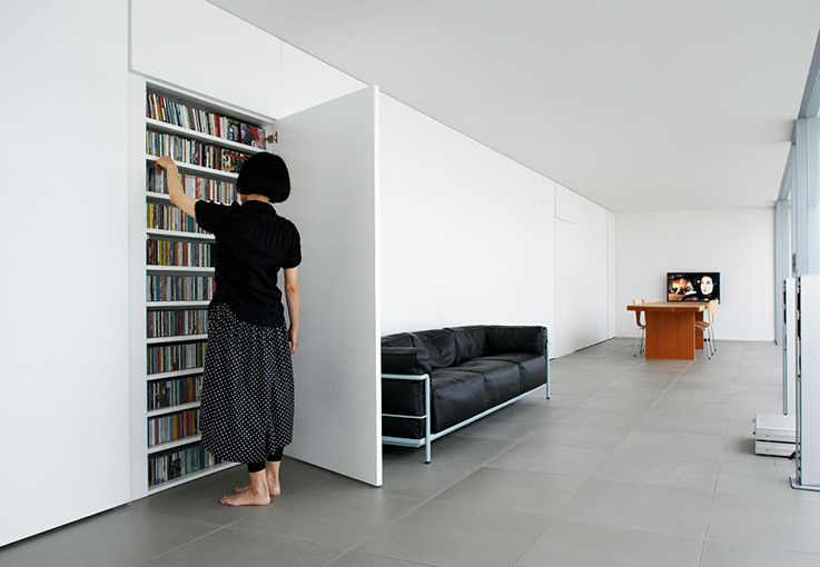 minimal house in Okinawa, Japan