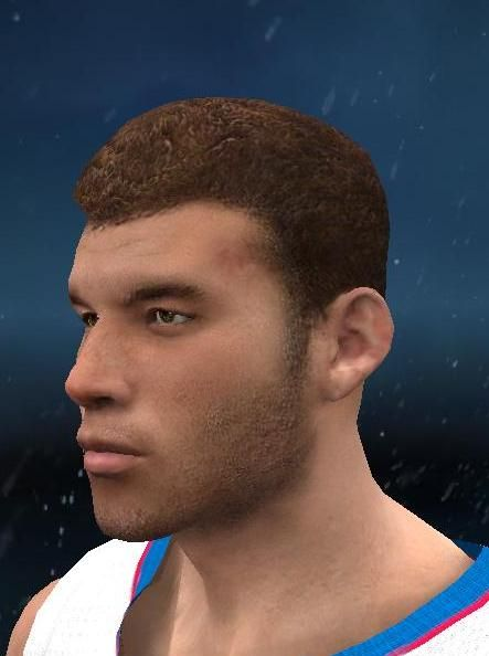Nba 2k12 blake griffin of la clippers cyber face patch
