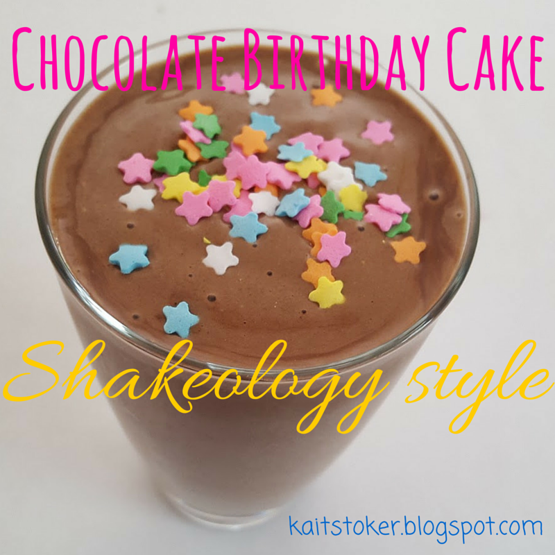 I Googled Some Recipes And Decided To Try Birthday Cake Shakeology This Is A Game Changer Guys Next Time Crave With Frosting Sprinkles