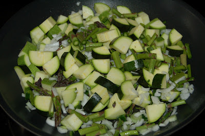 Spring Produce and Very Veggie Frittata | www.kettlercuisine.com