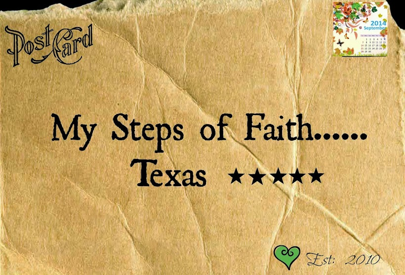 Shug...My Steps of Faith