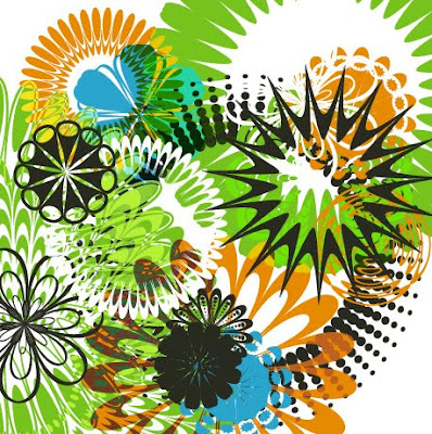 1various kinds of flower patterns