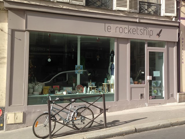 boutique rue Monnier Rocketship