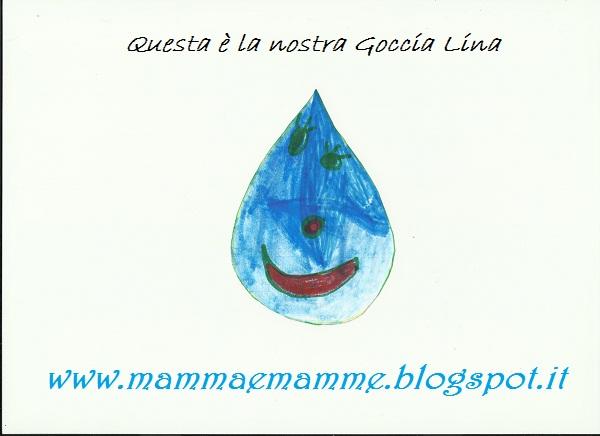 Mammaemamme Langolo Della Biblioteca Libri Bambini Goccia Lina