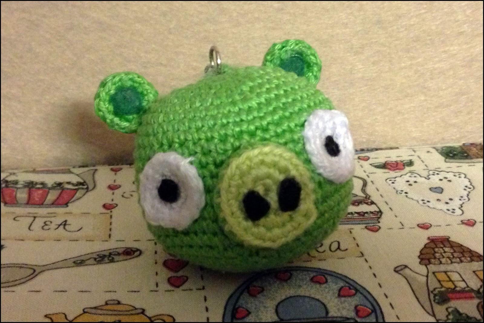 Cerdo Angry Birds Amigurumi : MADRES HIPERACTIVAS: Amigurumi Pig de Angry Birds