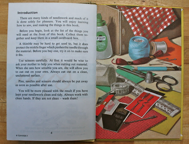 Ladybird Tuesday - Learning to Sew