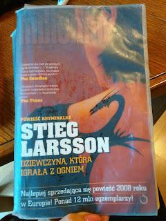 """Steig Larsson- """"Millenium: Dziewczyna, która igrała z ogniem"""""""