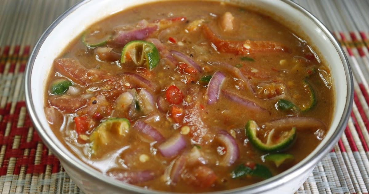 Resepi Air Asam Buah Tomato