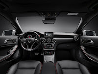 All-New 2013 Mercedes A-Class Interior Cockpit