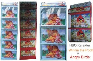 gambar hanging bag organizer,gambar hanging bag organizer,gambar HBO motif