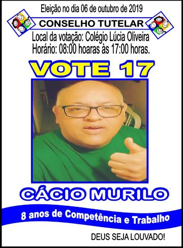 CÁCIO MURILO - VOTE 17