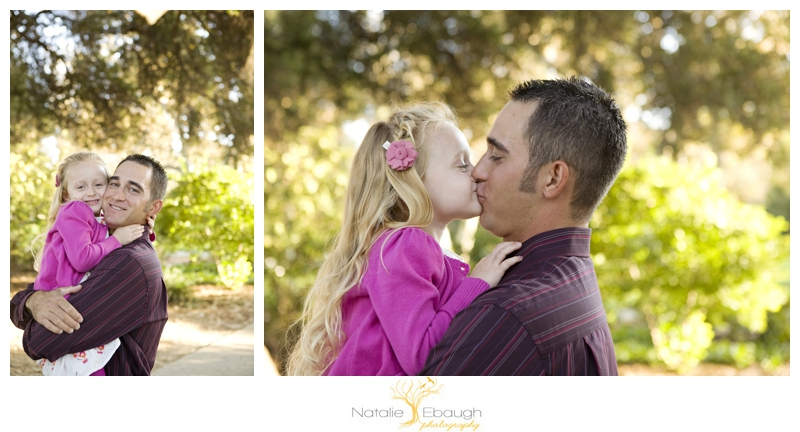 father/daughter portraits in the inland empire