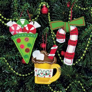 Felt Christmas Ornaments Kit