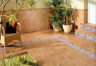 Arte y jardiner a superficies horizontales materiales - Azulejos rusticos para patios ...