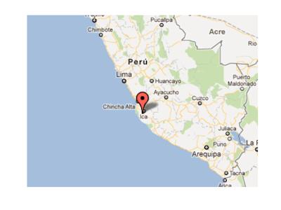 Sísmo de 5,4 grados sacude Ica, en Perú