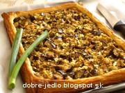 Baklažánový koláč - recept
