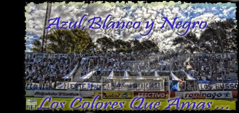 """Club Almagro  www. AZUL BLANCO Y NEGRO .com """"Los colores que amas"""""""