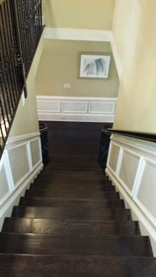 iron baluster installation marietta