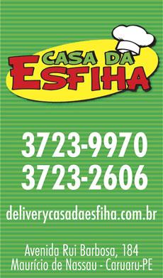 CASA DA ESFIHA
