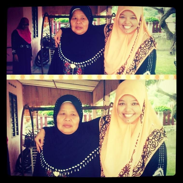 ♥With Nenek♥