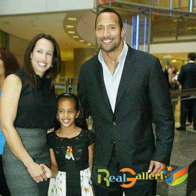 Dwayne Johnson And His Wife