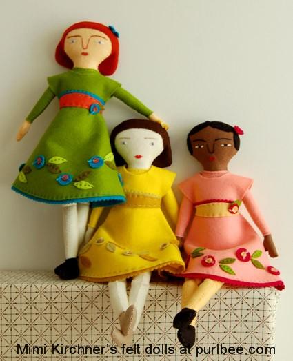 cute cloth dolls