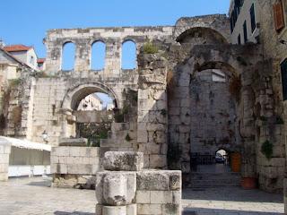 Diocletianova Palaca, Spilt, Kroatien