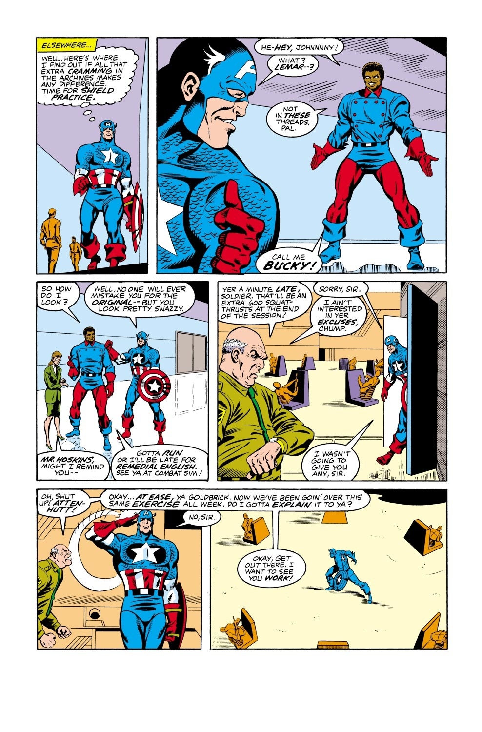 Captain America (1968) Issue #334 #263 - English 5