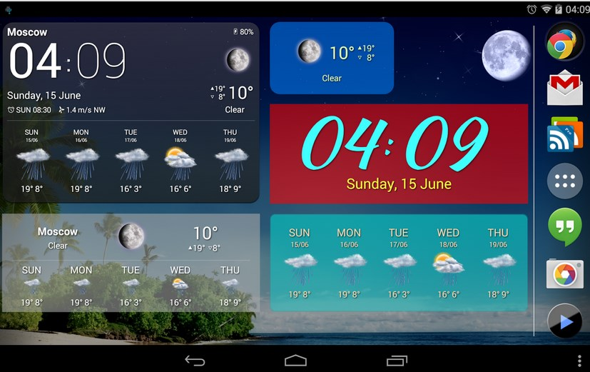 Weather Now Pro Widgets lwp v3.4.1 Apk
