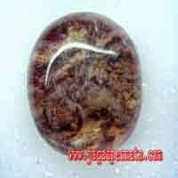 Batu Permata Kecubung Karang Asli