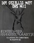 Elke week een kerstkaart. Doe je mee?