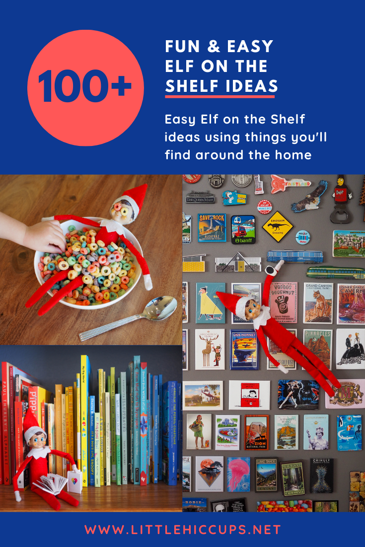 100+ Fun & Easy Elf on the Shelf Ideas