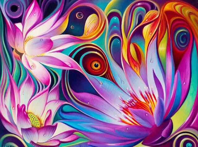 cuadros-de-flores-abstractos