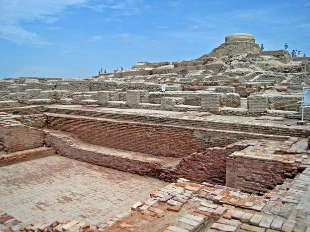 Archaeological Ruins at Moenjodaro Pakistan