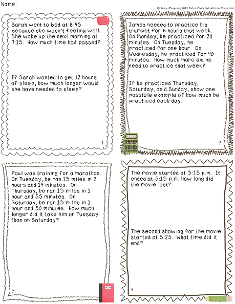 Temperature word problems worksheets 3rd grade