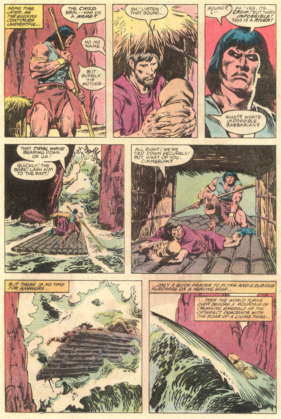 Conan the Barbarian (1970) Issue #136 #148 - English 9