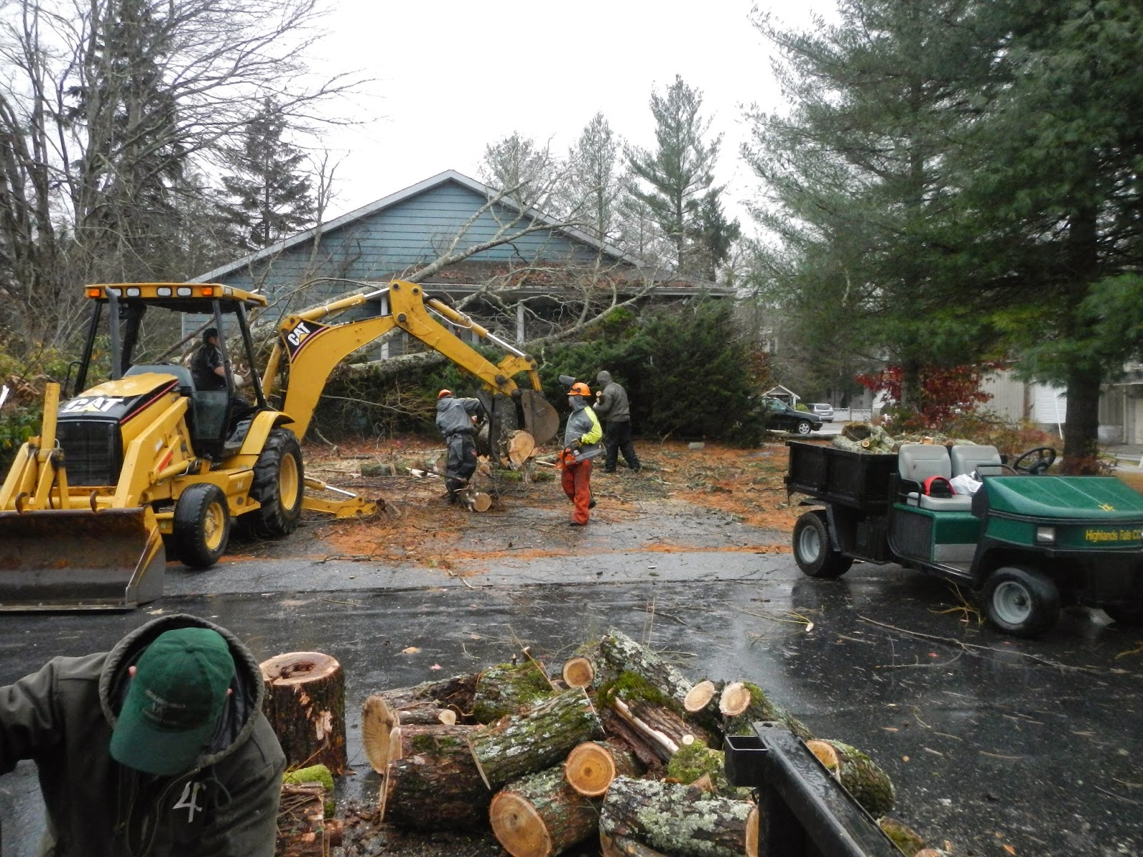 Highlands falls country club golf course maintenance hfcc
