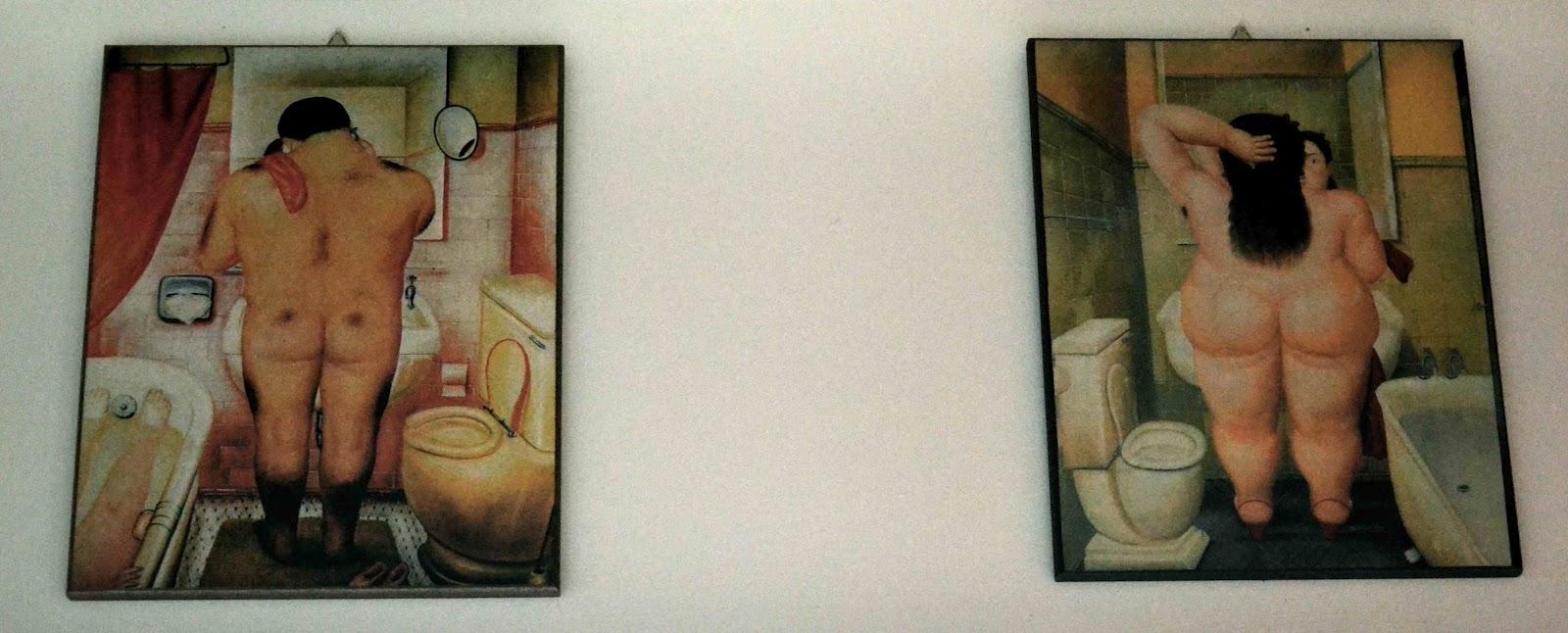 La civetta chiacchierina passione di carta un falso per una cornice d 39 autore - Botero uomo in bagno ...