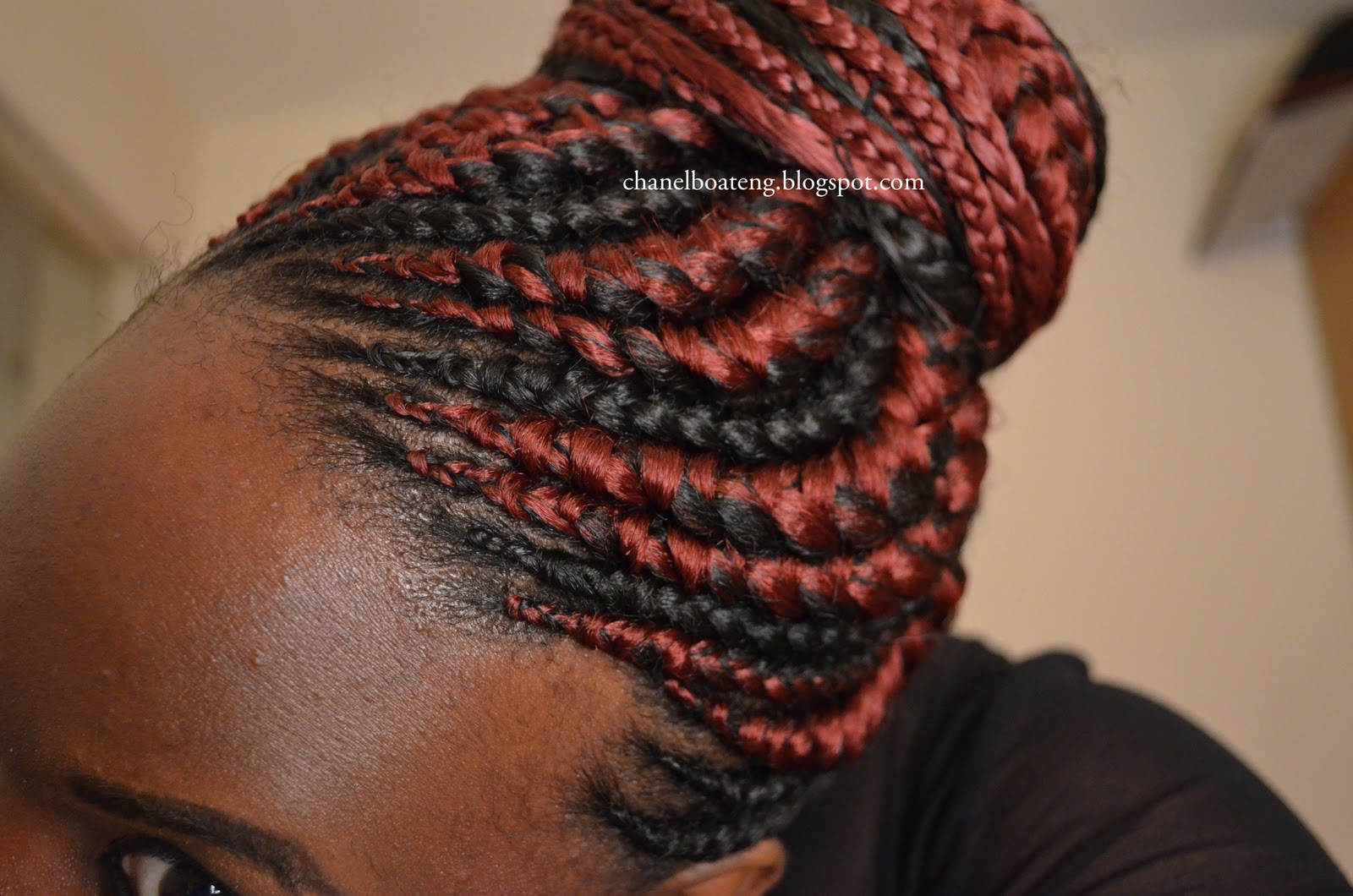 Here are the pics of my new birthday hair, hope it can inspire someone ...
