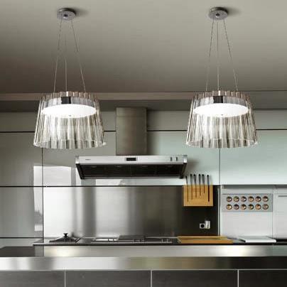 Lamparas g iluminacion y dise o iluminacion para cocinas - Iluminacion en cocinas ...