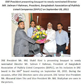 newly nominated Director MR. Salman F Rahman
