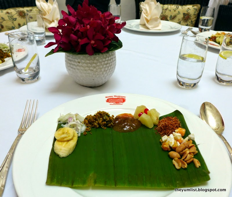 Sunday Tiffin Lunch, Colonial Cafe, Hotel Majestic Kuala Lumpur