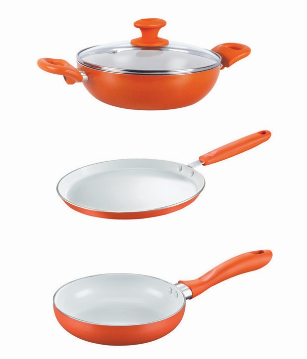 Prestige Ceramic cookware set online price