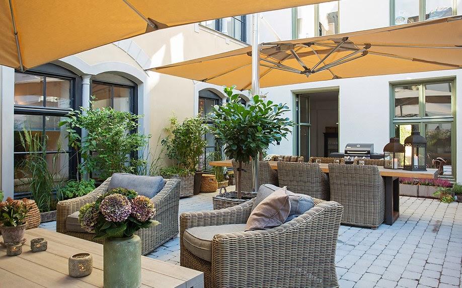Beautiful Terrazze Arredate Con Piante Contemporary - Idee ...