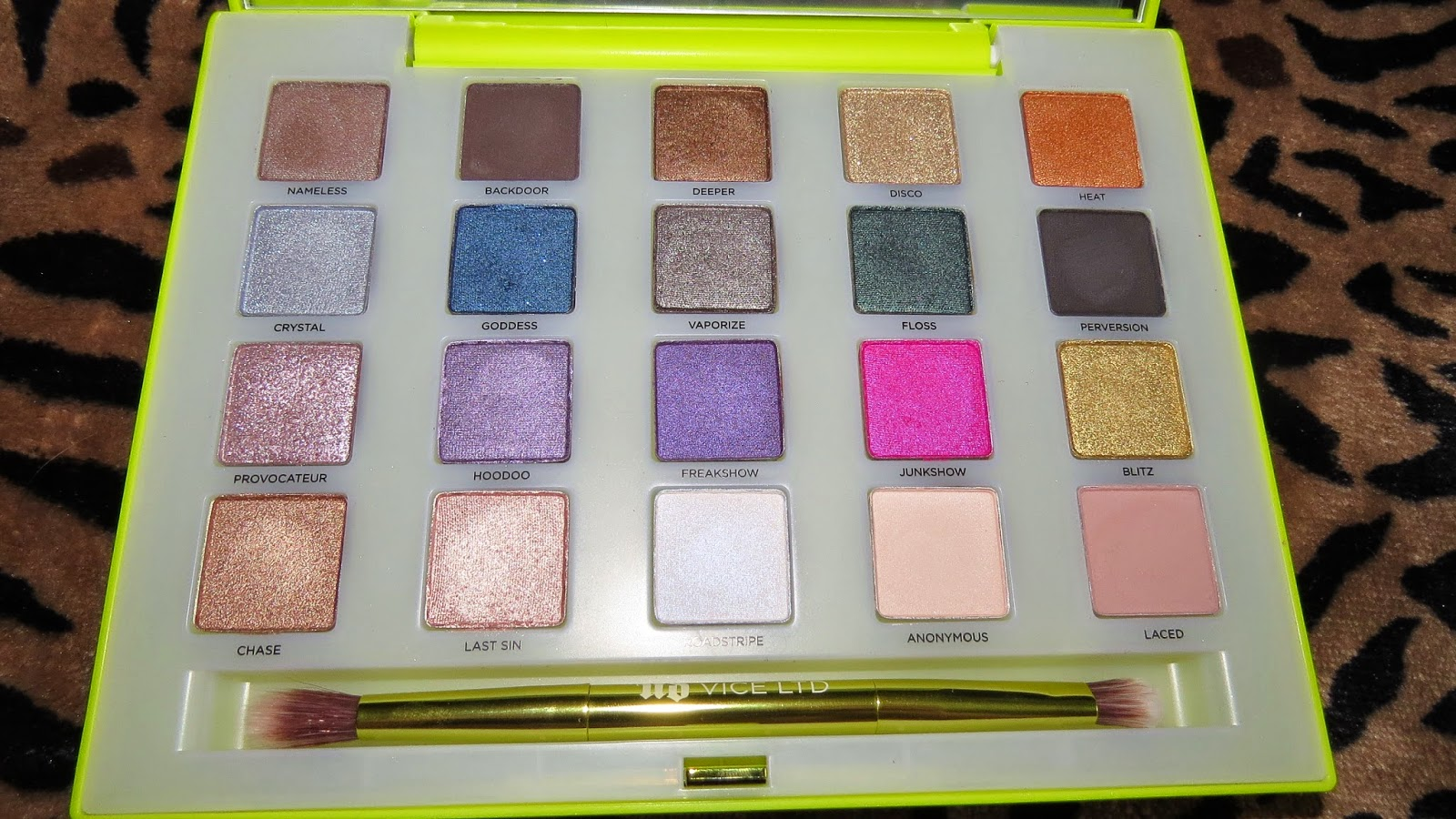 urban decay vice ltd palette