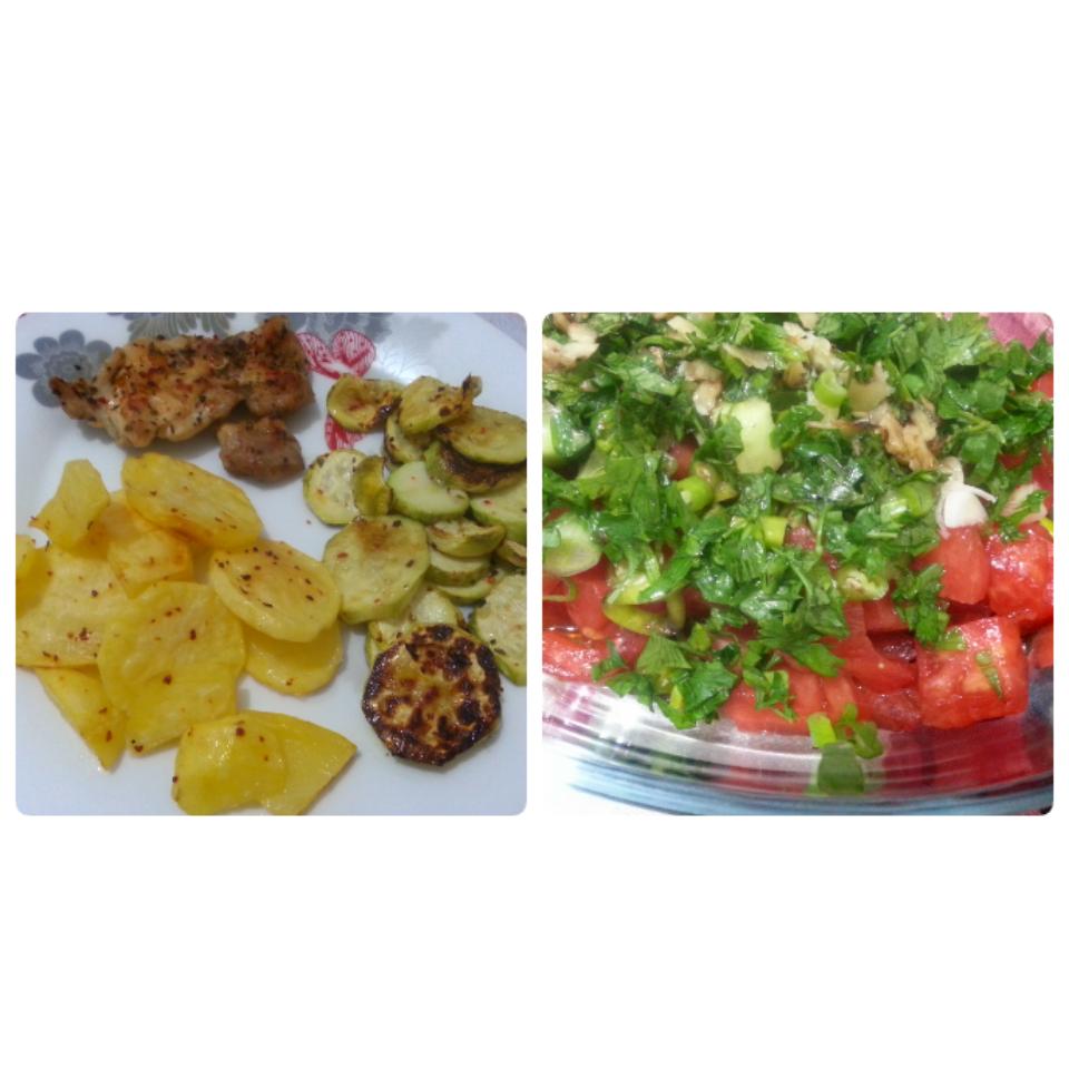 Köfte, et, balık, sebze kaç kalori