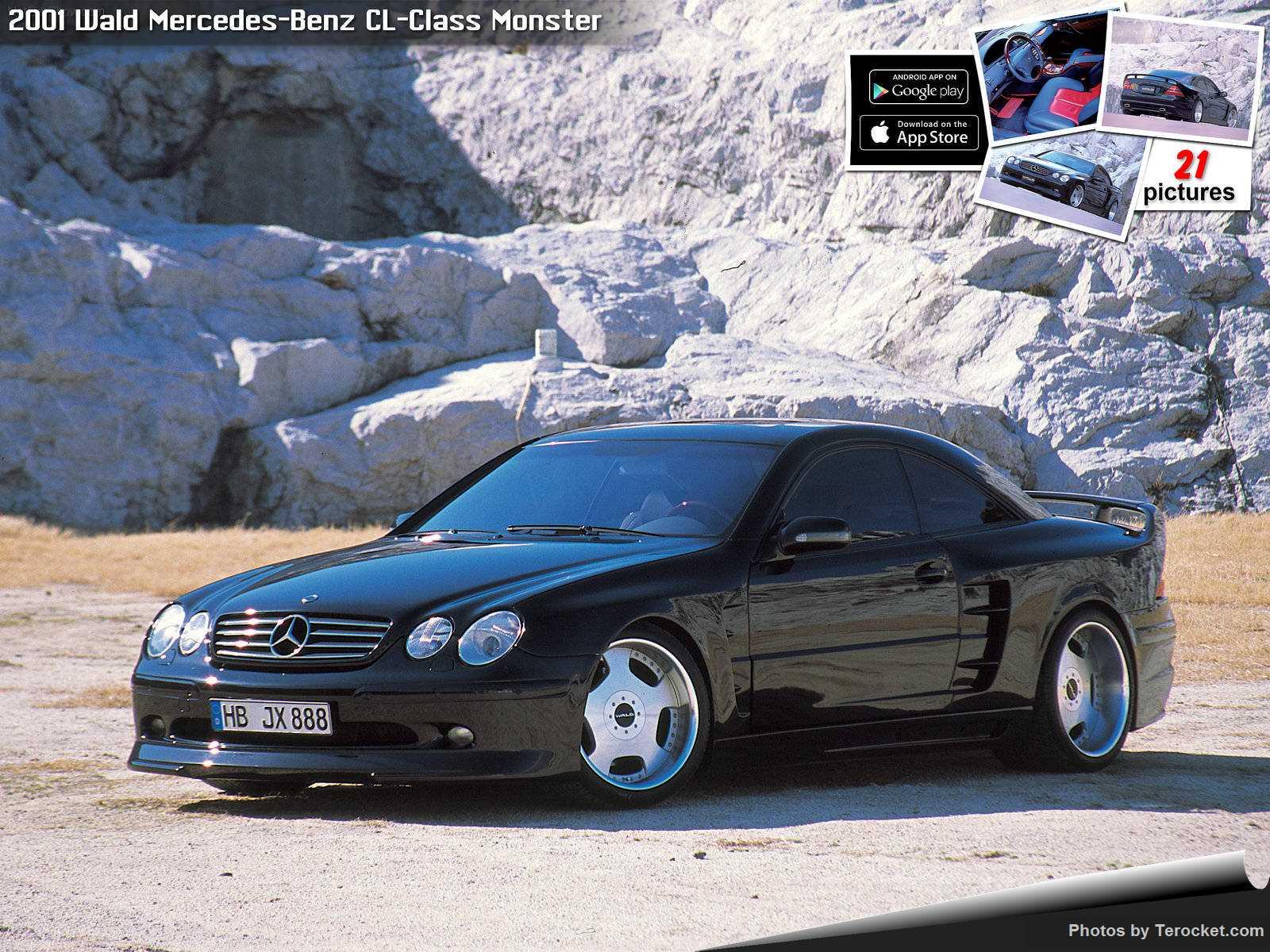 Hình ảnh xe độ Wald Mercedes-Benz CL-Class Monster 2001 & nội ngoại thất