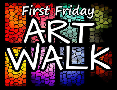 First Friday Art Walk, Bastrop, Texas