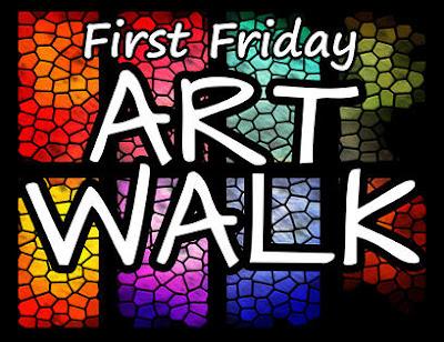 First Friday Art Walk, Bastrop, Texas