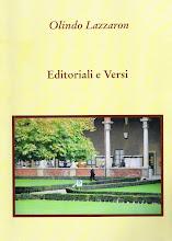 EDITORIALE E VERSI di Olindo LAZZARON